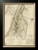 Palestine sous la Domination Romaine, c.1828 Framed Giclee Print by Adrien Hubert Brue
