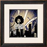 Hendrix Prints by Jean-François Dupuis