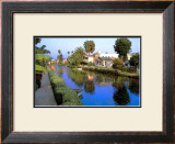 Blue Canal Framed Giclee Print by Jack Heinz