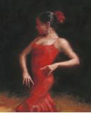 Flamenco II Print by Patrick Mcgannon