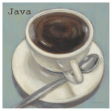 Fresh Java Poster by Norman Wyatt Jr.