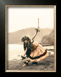 Pua with Sticks, Hula Dancer Posters by Alan Houghton