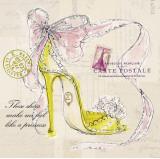 Princess Shoe Posters by Barbara Lindner