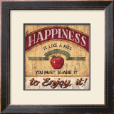 Happiness Prints by Brent Mcrae