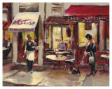 Sidewalk Bistro Prints by Brent Heighton
