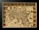 Antique Maps III Print by Willem Janszoon Blaeu