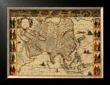 Antique Maps III Print by Willem Janszoon Blaeu