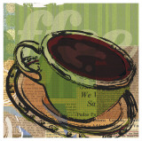 Etched Coffee Prints by Walter Robertson