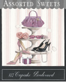 Cupcake Boulevard Affiches par Marco Fabiano