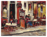 Sidewalk Café Prints by Brent Heighton