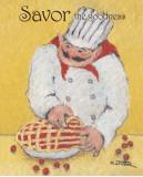 Pie Maker Print by Carole Katchen