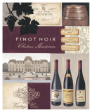 Vintners Pinot Noir Poster by James Wiens