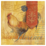 Florence Rooster Posters by Angela Staehling