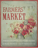 Market Flowers Poster by Mandy Lynne