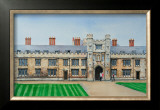 Trinity College Cambridge Posters by Peter French