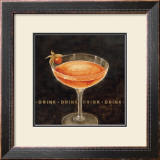 Cocktail Poster by Eric Barjot