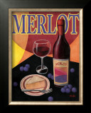 Merlot Art by T. C. Chiu