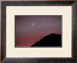Purple Mountain Moon Framed Giclee Print by Charles Glover