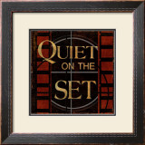 Quiet on the Set Art by Kelly Donovan