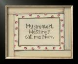 My Greatest Blessings Poster by Karen Tribett
