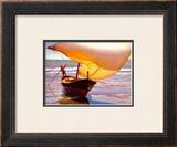 Fishing Boat Art by Arthur Rider