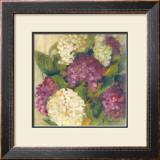 Hydrangea Delight I Art by Carol Rowan