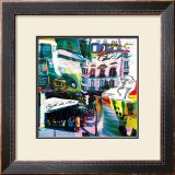 St Germain Rive Gauche Prints by  Kaly