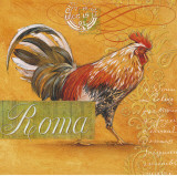 Roma Rooster Prints by Angela Staehling