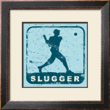 Slugger Print by Peter Horjus