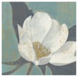 White Blossom Poster by Norman Wyatt Jr.