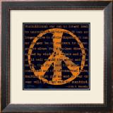 Peace Sign III Prints by Sylvia Murray