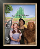 The Wizard of Oz: No Place Like Home Glitter Poster