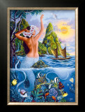 Wahine from the Sea Prints by Warren Rapozo