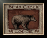 Bear Creek Poster by Todd Williams