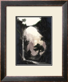 The Orient and Place That No One Knows in Fog Framed Giclee Print by Kyo Nakayama