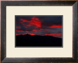 Arctic Sunset Framed Giclee Print by Charles Glover