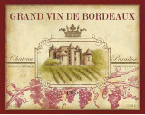 Grand Vin De Bordeaux Print by Devon Ross