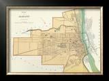 Albany, New York, c.1895 Framed Giclee Print by Joseph Rudolf Bien