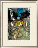 Martini on the Marble Table Framed Giclee Print by Steve Ash