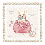 Chihuahua Puppy Purse Prints by Chad Barrett
