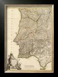 Composite: Portugal, Algarve, c.1780 Framed Giclee Print by Giovanni Antonio Bartolomeo Rizzi Zannoni