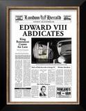 Edward VIII Abdicates Print