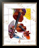 Violon Prints by A.. Cromwell
