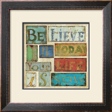 Believe and Hope I Art by Daphne Brissonnet