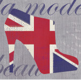 UK Chic Posters by Evangeline Taylor