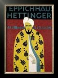 Teppichhaus Hettinger Framed Giclee Print by  Morach