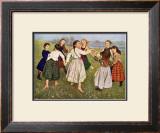The Kindergarten Children Poster by Hans Thomas