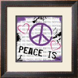 Peace Is Art by Louise Carey