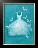 Butterfly Motif Dress Prints by Deb Garlick