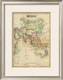 Asia, c.1820 Framed Giclee Print by John Melish